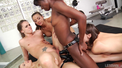 Tori Blacks Lesbian Gang Bang - Aug 19, 2017