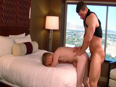Hot Service On My Big Cock - Liam Harkmoore and Zeb Atlas