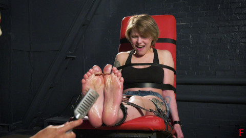 HD Power play Sex Movies  Intensive tickling of hawt soles