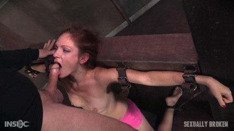 Kassondra Raine - Face Fucked, Vibrated on Sybian, and Made to Cum! (2016)