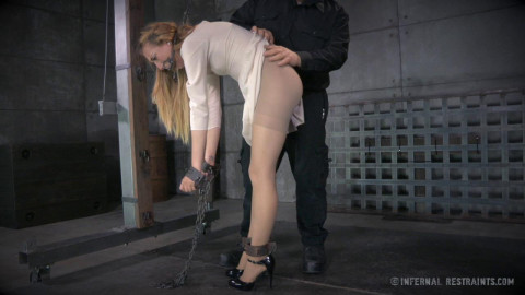 Intense raunchy humiliation for Emma Haize