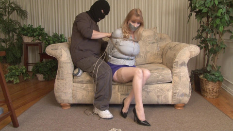 HD Bdsm Sex Videos Lorelei is Blackmailed Part 1 Bound and Gagged