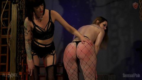 Lesbian Pussy Slap