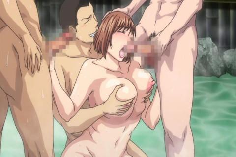 Tsuma ga Onsen de Circle Nakama no Nikubenki ni Natta no Desu ga...