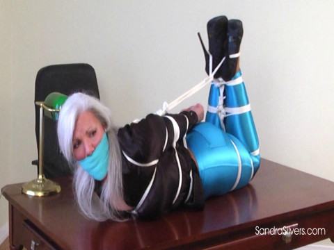 Sandra office bondage