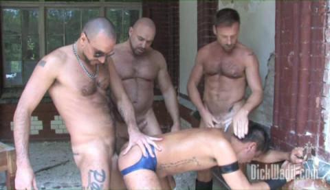 Berlin Males In Public Orgies
