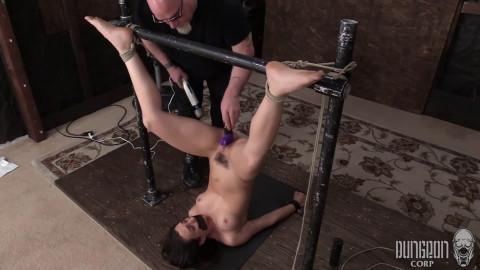 Super restraint bondage, spanking and castigation for juvenile model part FIRST