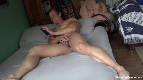 PumpingMuscle Nicklas G Photoshoot Part 3 (Nude Edit)