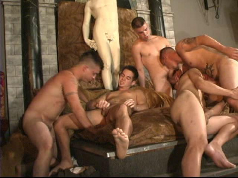 Return Orgies With Muscle Men