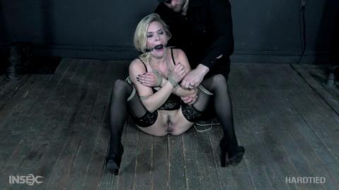 Beautiful sex-hungry lady dominated intense