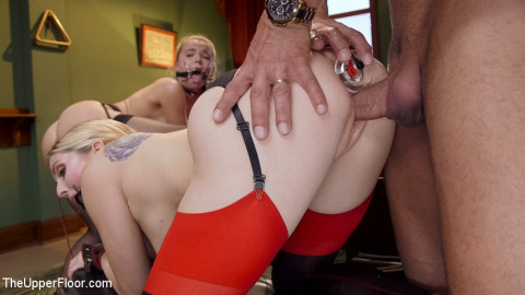 Anal Slut Slaves Learn The Quiet Game