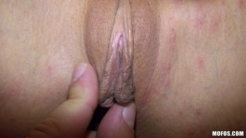 After A Sweet-Talking and Some Cash, Blonde Showed Him That Pussy