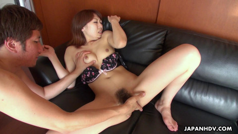 Eri Fujino - Gets a visit whilst masturbating (2021)