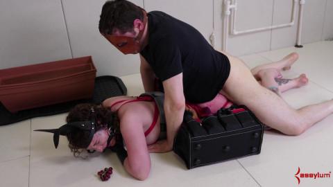 Rough Ass Training For Paige Pierce