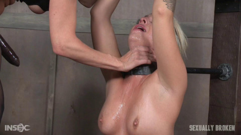 Madelyn Monroe - Unbelievably Hot Madelyn Monroe Bound To Sybian and Used By Couple! (2016)