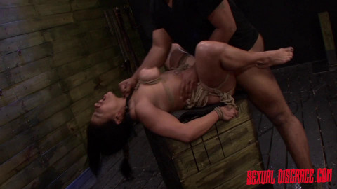 Becca Diamonds First Rope Suspension with Plenty of BDSM Sex