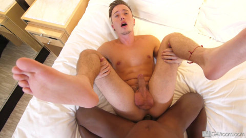 Liam Cyber bonks Tyler Slaters anal opening 1080p