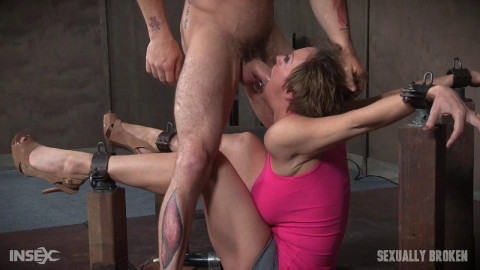 Dee Williams Shows Off Amazing Cock Sucking Skills Bondage Vibrated Multiple Orgasms! (2016)