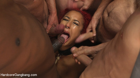 Awakening Of the Beasts: Daisy Ducati filled with demon cream pie!