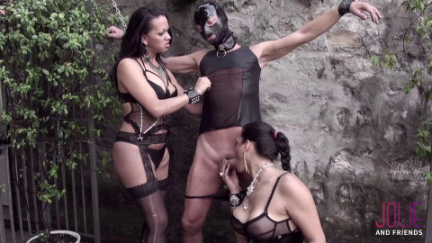 Drielly Riuston, Camilla Jolie - Tower Double Abuse