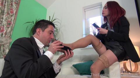 Lady Boss Foot Reprimand