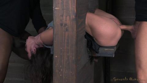 Amber Rayne - Brutal Deepthroat and Multiple Orgasms!