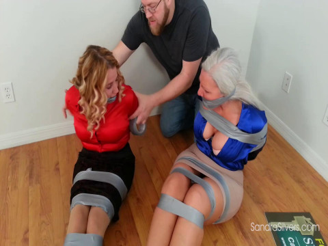 Real Estate Agents Get Duct Tape Bound, Gagged and Exposed by Angry Client!