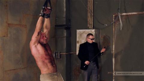 RusCapturedBoys - Bodybuilder Roman in Slavery. Part II