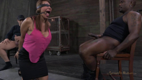 Super MILF Ava Devine is bound helpless and deeply ASS fucked.