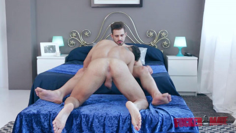 Strict eyes and dick in the ass!