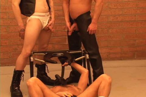 Hard bondage party