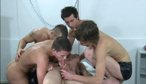Willing Students Bareback & Gangbang