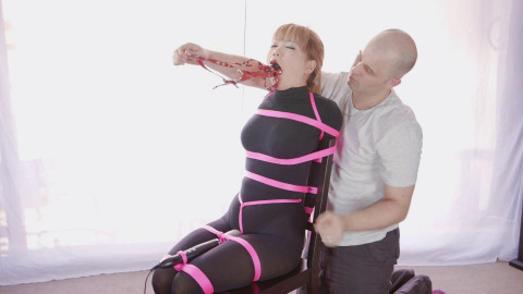 Pretty Asian Slave Tied Up & Punished Hard