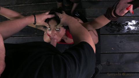 Lush porn star Mahina Zaltana turned into a fire hydrant