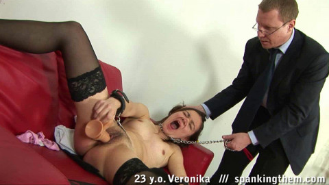 Office Spanking Humiliation (Veronika) ST