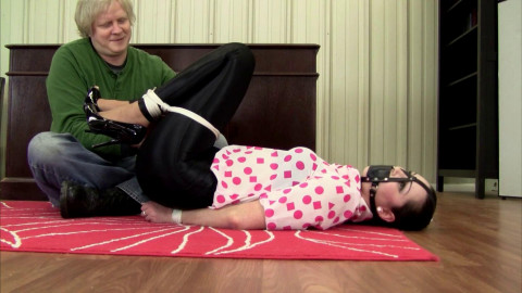HD Bdsm Sex Videos Hogtied, Frogtie, and Ballgagged