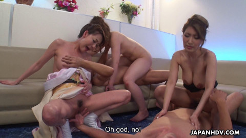 Married Japanese Chicks Acquire Involved In Hawt Group Sex Act 1080p