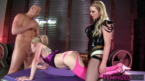 Juliette Stray, Lexi Sindel & Christian / Bimbo Cum Dumpster