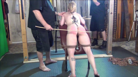 Suspended Orgasm Caned