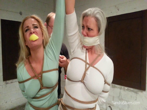 Gagged And Exposed In The Warehouse - Full HD 1080p