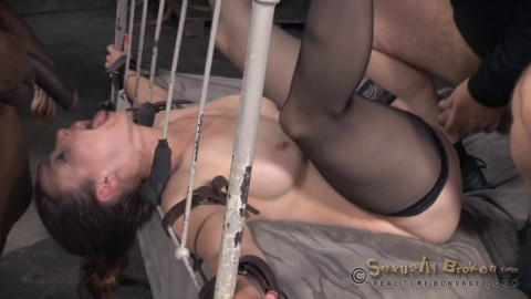 Show With Hard Bed Bondage # 3 (17 Aug 2015) Real Time Bondage