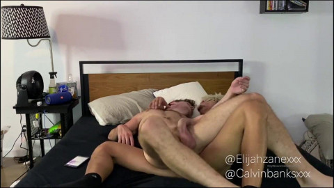 Elijah Zayne copulates Calvin Banks