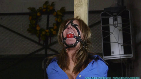 Cruel Gags and Crotchrope for Crystal Frost - Part 1