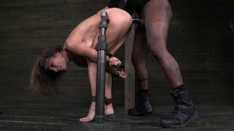 Amber Rayne ass fucked by 2 big dicks