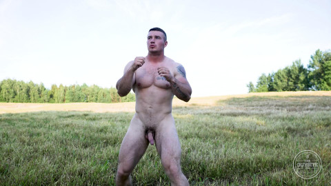 Naked Russian Stud