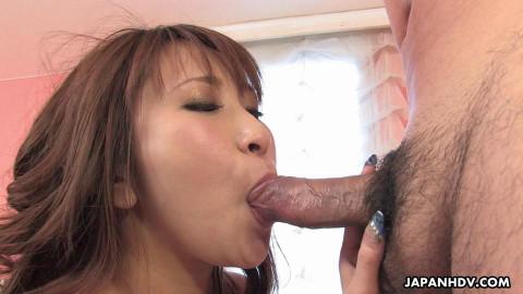 Naughty wife, yuki maya is fucking her allies spouse