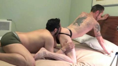 Birthday booty banging