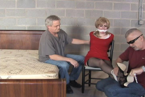Anna Evans-Help! They have me tied up in the basement!