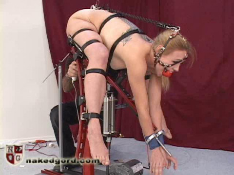 NakedGord-Darling on the Foldy Fuck Machine Part 2( 2010)