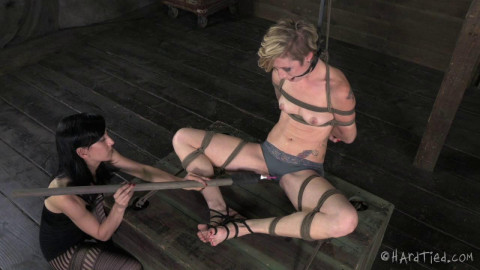 Rough Bondage - Maia Davis & Elise Graves